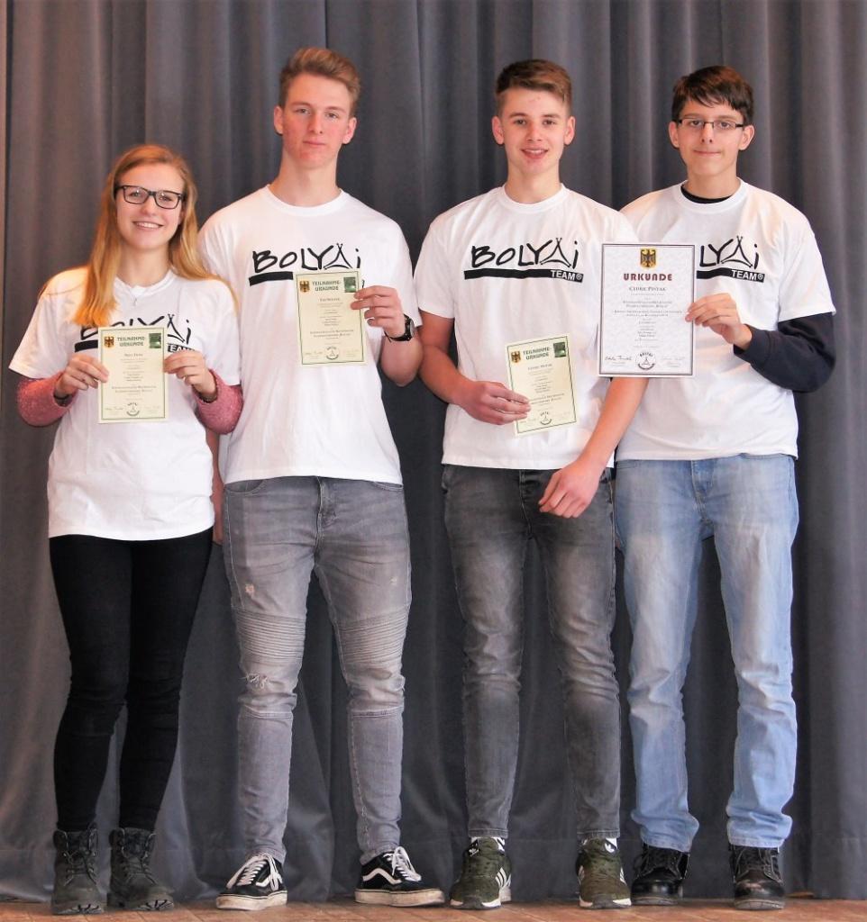 Bolyai 2018 Sieger