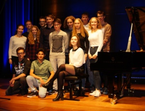 Exkursion des Musikkurses zur Musikhochschule Hannover