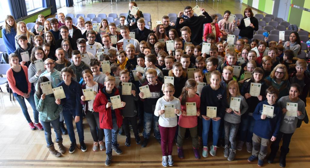 Platz 1 im Norden für Mathematikteam des Gymnasiums Groß Ilsede