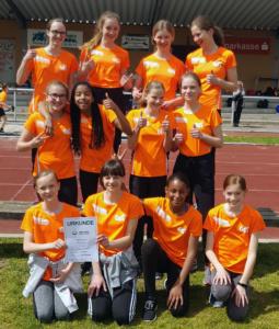 JtfO Leichtathletik - Ilseder setzen sich gegen das Gymnasium Vechelde durch und fahren nun zum Bezirksfinale