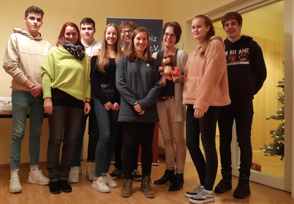 Schüler des Gymnasiums Groß Ilsede spenden an das Kinderhospiz Löwenherz